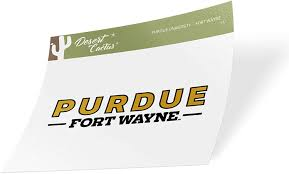 Amazon Com Purdue University Fort Wayne Mastodons Ncaa Vinyl Decal Laptop Water Bottle Car Scrapbook Sticker 15 Arts Crafts Sewing