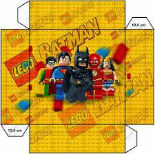 Lego Pelicula Cajas Para Imprimir Gratis Fiesta Batman Lego