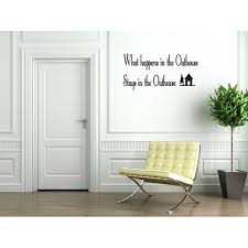 Outhouse Bathroom Vinyl Wall Decal Quotes Wall Stickers Bathroom Decals Home Decor Decals 136 Walmart Com Walmart Com