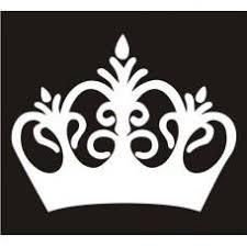 Crown Princess Crown Car Window Decal Tablet Pc Sticker Automobile W Mymonkeysticker Com