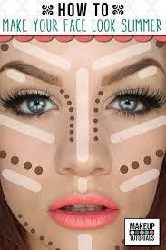 how to make face slimmer makeup