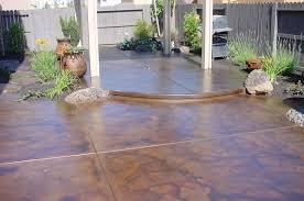 colored cement patio ideas givdo