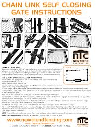 Chain Link Fence Installation Instructions Fencing Kitchener On