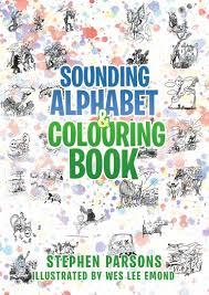 sounding alphabet colouring book