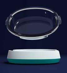 china pet bowl dog glass bowl feeding