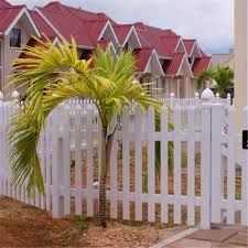 China Hot Sale Garden Vinyl Pvc Fence Panels Plastic Fence China Picket Fence And Temporary Fence Price