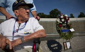 A day to remember for WWII vets - Baltimore Sun
