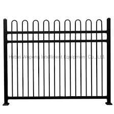 China Factory 3 Rails Outdoor Residential Retractable Pool Fence Panels China Fence Steel Fence