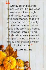 best thanksgiving quotes meaningful thanksgiving sayings