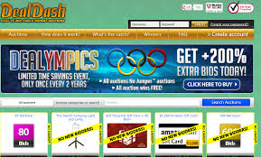 more bids with dealympics promotion on