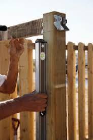 height of garden fencing