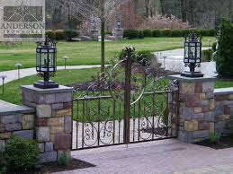 Contemporary Iron Gate Designs Anderson Ironworks