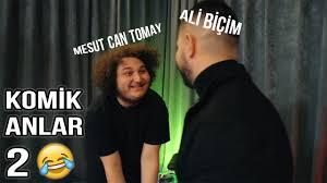Ali Biçim ve Mesut Can Tomay Komik Anlar #3 (GERÇEK HAYATTA TİNDER ...