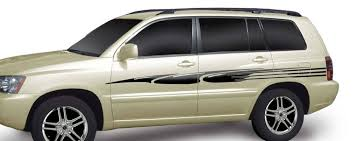 Talon Vinyl Graphics Decals Stripes Kit Universal Fit Shown On Ford Escape Suv Moproauto Professional Vinyl Graphics And Striping