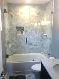 small bathroom tub shower combination