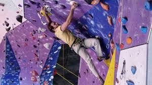just got its biggest rock climbing gym