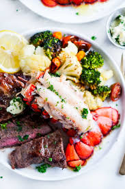 Surf and Turf Steak and Lobster Tail ...