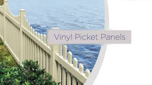 Freedom Ready To Assemble Vinyl Picket Panel Installation Overview Youtube