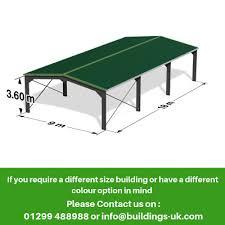 agricultural steel frame kit building