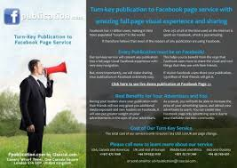 turn key publication to facebook page service google drive