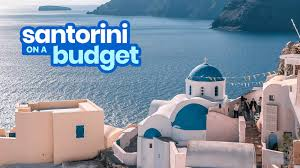 santorini travel guide with budget