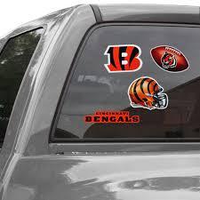 Cincinnati Bengals Wincraft Ultra Decal Sheet
