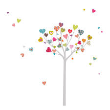 Shop Adzif Mia117 Mia Amp Co Heart Tree Wall Decals At Lowe 39 S Canada Find Our Selection Of Wall Decals A Flower Wall Decals Tree Wall Decal Wall Decals