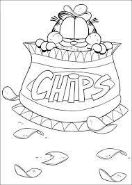 Kleurplaten Van Garfield Voor Beginners