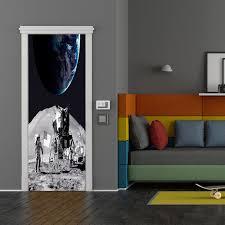 Zoomie Kids Savarese Moon Landing Astronaut Door Sign Wayfair