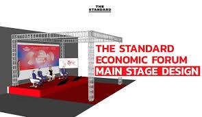 ชมคลิป: เบื้องหลังการออกแบบเวที THE STANDARD ECONOMIC FORUM – THE STANDARD
