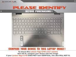 Amazon Com Decalrus Protective Decal For Lenovo Yoga C740 15 6 Screen Laptop Purple Carbon Fiber Skin Case Cover Wrap Cflenovoyoga15 C740purple Computers Accessories