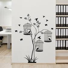 Style And Apply Bird Cages Plant Wall Decal Wayfair