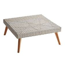 bari gray square coffee table outdoor