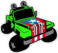 1 Puerto Rico Puerto Rican Flag Car Decal Vinyl Stickers Boricua 1691
