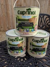 Cuprinol Garden Shades 2 5 Ltr Tins Black Ash In Rm10 Dagenham For 12 00 For Sale Shpock