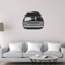 Amazon Com Car Wall Decal Car Wall Sticker Car Wall Art Multiple Sizes Wall Decals For Kids Rooms Wall Stickers For Kids Car Sticker Basement Wall Sticker Wall Decals For Boys Room Game