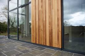 exterior hardwood timber cladding
