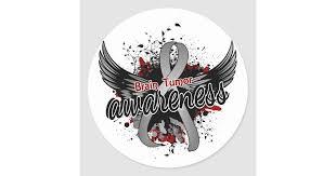 Brain Tumor Awareness 16 Classic Round Sticker Zazzle Com