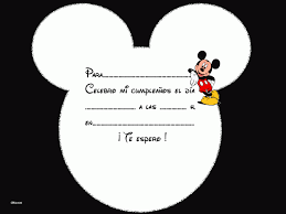 Fondos De Mickey Mouse Para Invitaciones Invitacion De Mickey