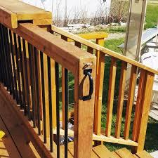 top 50 best deck gate ideas backyard