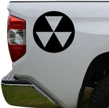 Amazon Com Rosie Decals Fallout Shelter Nuke Die Cut Vinyl Decal Sticker For Car Truck Motorcycle Window Bumper Wall Decor Size 8 Inch 20 Cm Tall Color Matte Black Home Kitchen