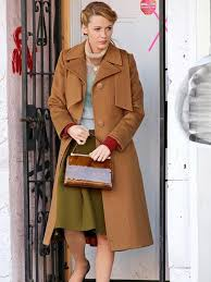 The Age of Adaline Blake Lively Brown Coat - The Movie Fashion