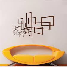 Geometric Modern Wall Decal Vinyl Wall Art From Trendy Wall Designs