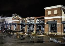 Jonesboro tornado damage photos