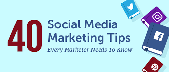 40 Social Media Marketing Tips Every Marketer Should Know