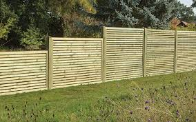 Slatted Panel Fencing Vetraland Selective Timber