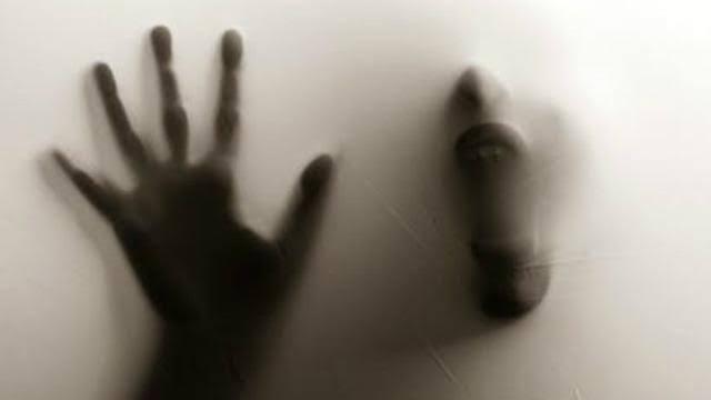 Ilustrasi hantu tanpa muka