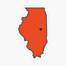 University Of Illinois Stickers Redbubble