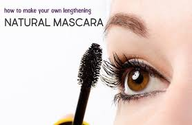 diy natural mascara with lavender for