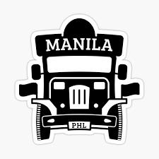 Jeepney Stickers Redbubble